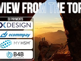 EU Payments: xDesign, ECOMMPAY, MYHSM and B4B payments in View from the Top | The Fintech Times image