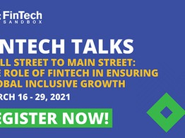 FinTech Sandbox Hosts Second Edition of Virtual FinTech Talks Featuring the Federal Reserve Bank of Boston, CNBC, MIT, Franklin Templeton, Algorand and Two Dozen Industry Luminaries in March image