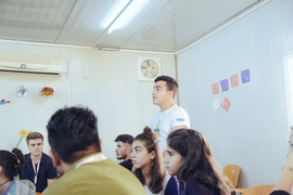 At a Refugee Camp in Iraq, a 16-Year-Old Syrian Is Teaching Crypto Basics