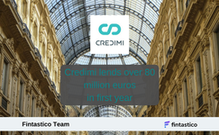 Invoice financing startup Credimi lends over 80 million euros in first year