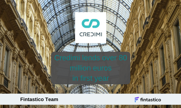 Invoice financing startup Credimi lends over 80 million