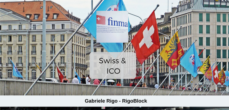 FINMA ICOs guidelines Switzerland