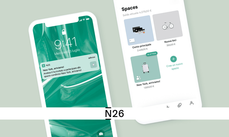 N26 shared spaces
