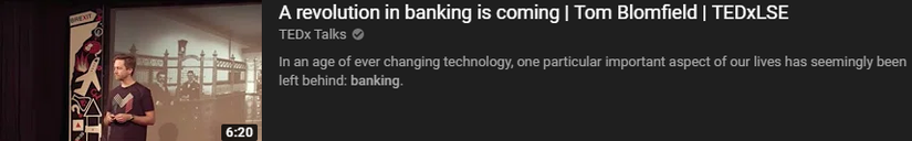 a revolution in banking is coming