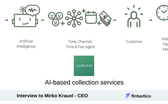AI-based collection services, interview with Mirko Krauel, CEO of collectAI