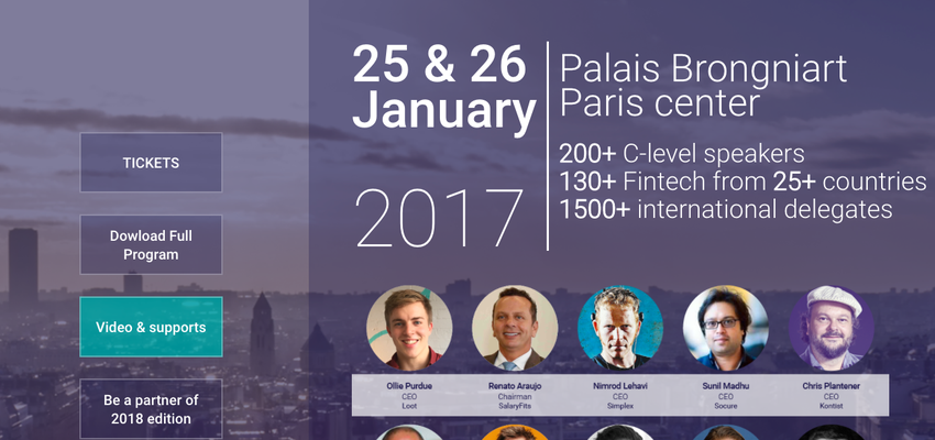 Paris Fintech Forum 2017